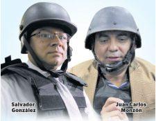 Juan Carlos Monzón y Salvador Estuardo González son colaboradores eficaces del MP. (Foto Prensa Libre: Hemeroteca PL)