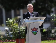 El alcalde capitalino Álvaro Arzú es señalado por el MP y la Cicig de usar fondos municipales para su campaña política. (Foto HemerotecaPL)