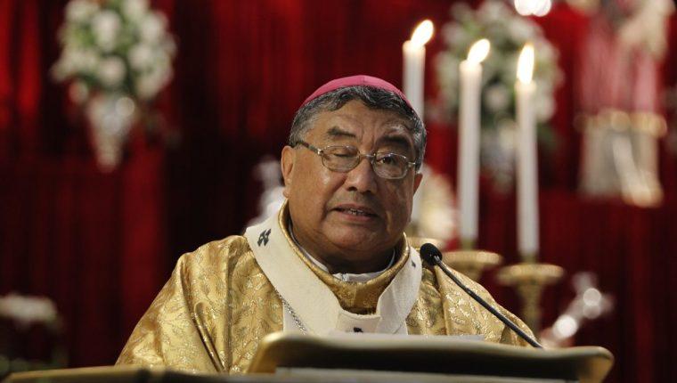 Arzobispo metropolitano, Óscar Vian. (Foto Prensa Libre: HemerotecaPL)