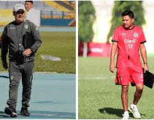 Willy Coito Olivera y Amarini Villatoro pelearán el primer gran duelo de la final del Apertura 2018. (Foto Prensa Libre: Jeniffer Gómez y Amarini Villatoro)