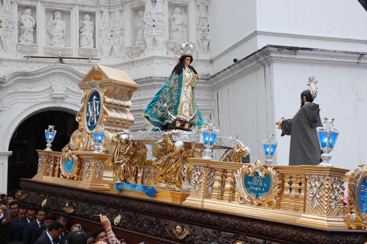 La Chapetona sale en su tradicional Rezado por tercera vez desde su llegada en 1620