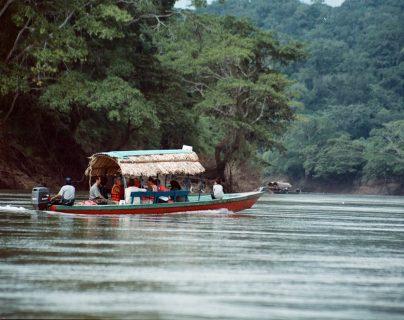 El río Usumacinta fue una vía de comunicación en la época prehispánica. (Foto: Hemeroteca PL)