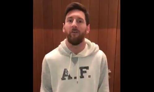 """El argentino Lionel Messi le mandó un saludo a David Beckham y le dijo que en """"unos añitos me hacés una llamadita"""". (Foto Prensa Libre: Instagram)"""