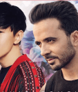 JJ Lin junto a Luis Fonsi, en la nueva versión de Despacito (Foto Prensa Libre: Instagram).