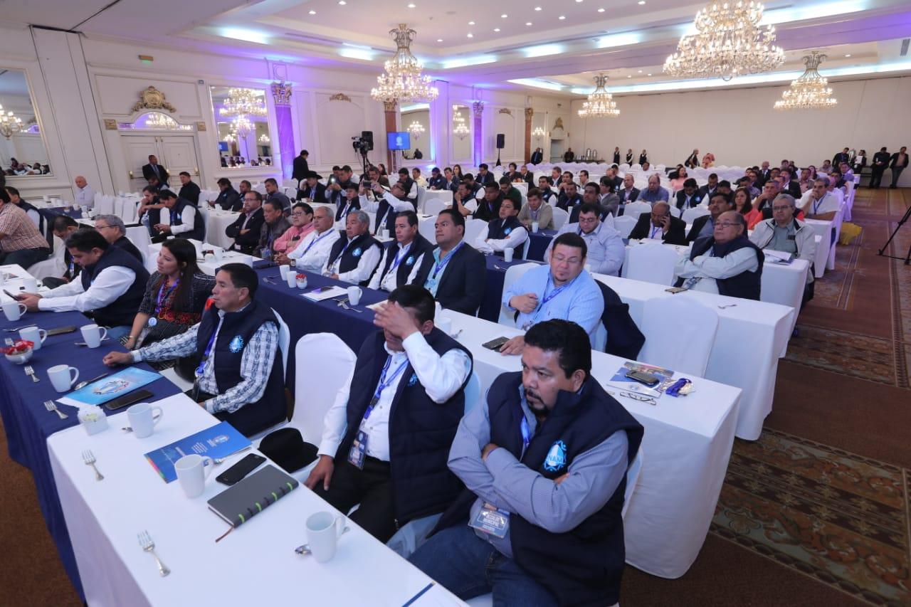 Alcaldes se dieron cita en al Asamblea Asamblea Nacional Ordinaria de la Anam. (Foto Prensa Libre: Érick Ávila)