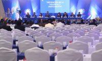 Los alcaldes de los 340 municipios tuvieron pugnas por la decisión de Edwin Escobar de crear su propio partido para participar como candidato presidencial (Foto Prensa Libre: Érick Ávila)