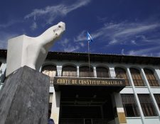 Fachada de la Corte de Constitucionalidad. (Foto Prensa Libre: Hemeroteca PL)