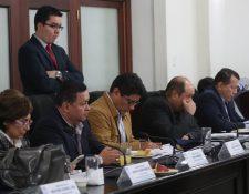 Los jefes de bloques del Congreso acordaron que el martes se discuta en primer debate el proyecto de presupuesto 2019. (Foto Prensa Libre: Óscar Rivas)