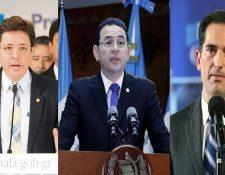 Coperex presentó solicitud de antejuicio contra el ministro de Finanzas, el presidente y el ministro de Economía. (Foto Prensa Libre: Hemeroteca PL)