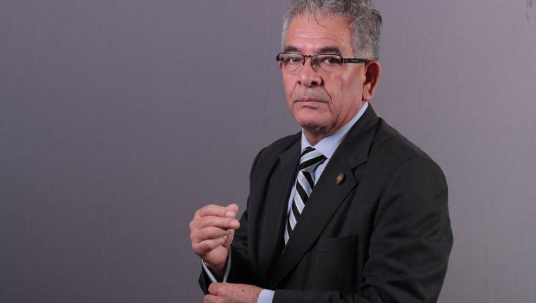 Juez Miguel Ángel Gálvez uno de los seis aspirante electos por la Comisión postuladora Fiscal General y MP. (Foto Prensa Libre: Carlos Hernández Ovalle)