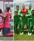 Malacateco defenderá quedarse en la Liga Nacional y Escuintla Heredia luchará por conseguir el ascenso a la máxima categoría. (Foto Prensa Libre: Hemeroteca)