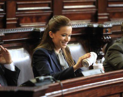 Daniela Beltranena enfrenta un proceso por corrupción junto a otros exfuncionarios del Partido Patriota. (Foto HemerotecaPL)