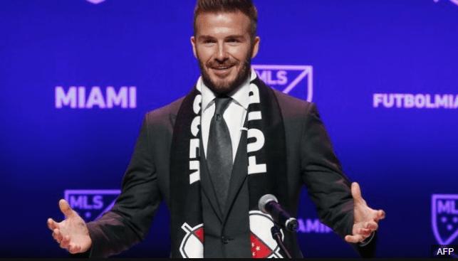 David Beckham jugó durante 20 años y llegó a ser capitán de la selección de Inglaterra. (Foto Prensa Libre: BBC Mundo)
