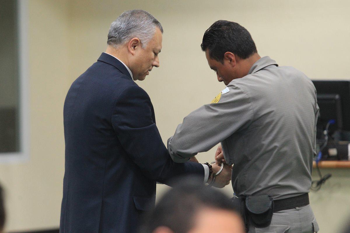 Salvador González brindó declaraciones el martes último en la Sala de Audiencias de Mayor Capacidad, por el caso Cooptación del Estado. (Foto: HemerotecaPL)