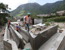 Una planta de tratamiento en Zunil, Quetzaltenango, que no ha sido finalizada. (Foto Prensa Libre: Mynor Toc)