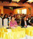 Instancia Multisectorial Ciudadana brindan conferencia de prensa para mostrar su descontento contra autoridades de Quetzaltenango. (Foto Prensa Libre: Carlos Ventura).