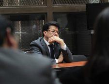 Douglas René Charchal Ramos, está ligado a proceso por el caso TCQ. Guarda prisión preventiva. (Foto Prensa Libre: Hemeroteca PL)