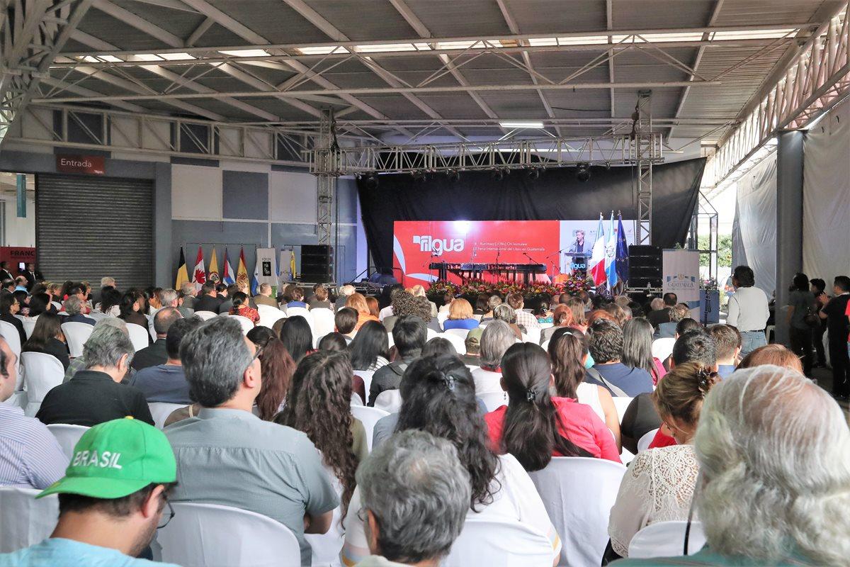 La edición 2018 de la Filgua tiene como invitado especial a Francia (Foto Prensa Libre: José A. Ochoa).
