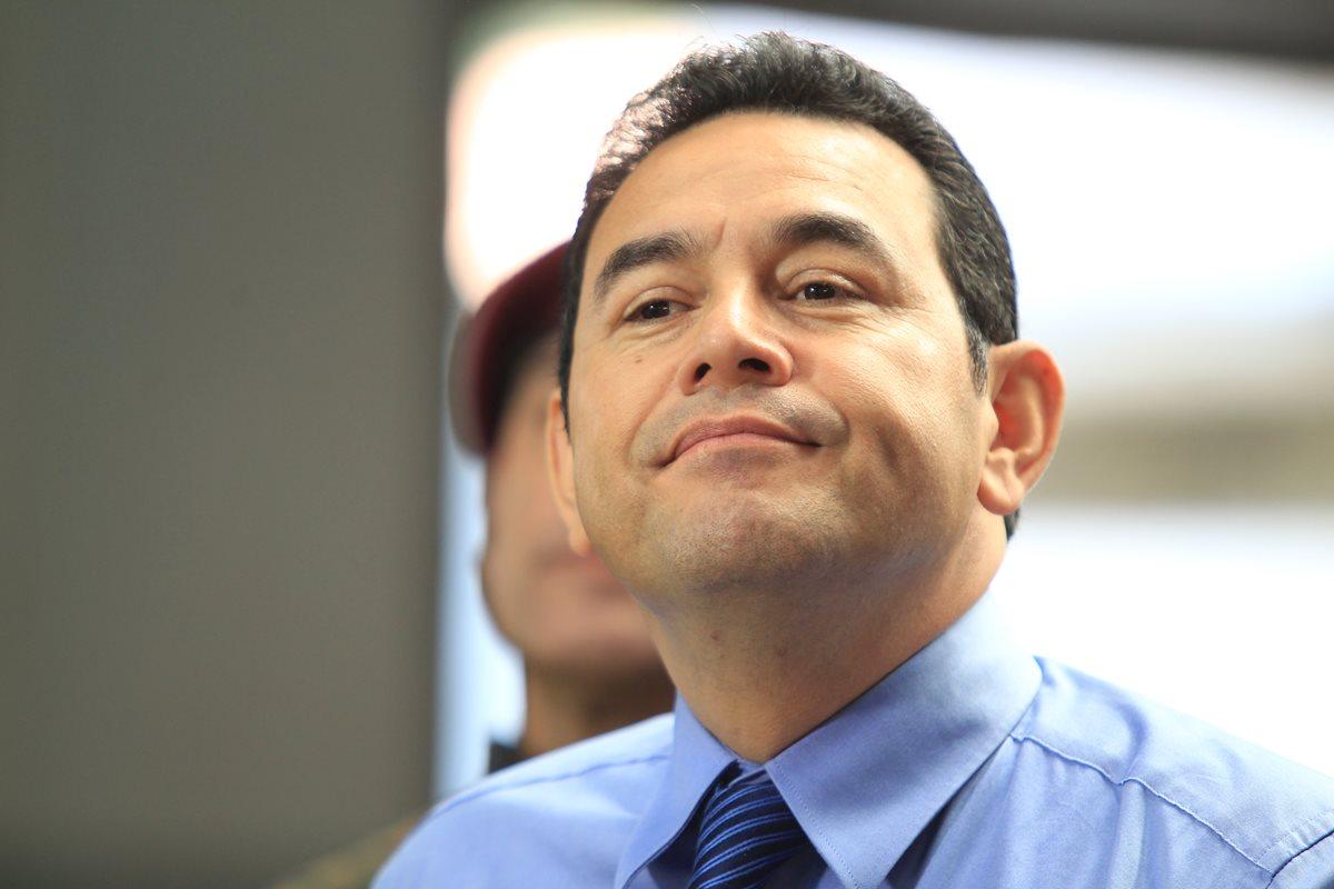 Jimmy Morales vuelve a señalar injerencia
