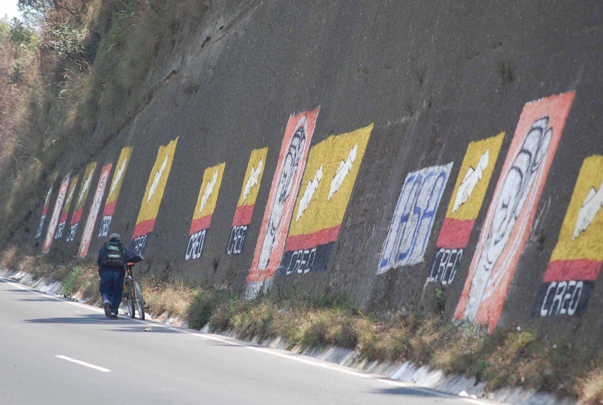Los partidos políticos han evitado promocionarse para no caer en una ilegalidad. (Foto Prensa Libre: Hemeroteca PL)
