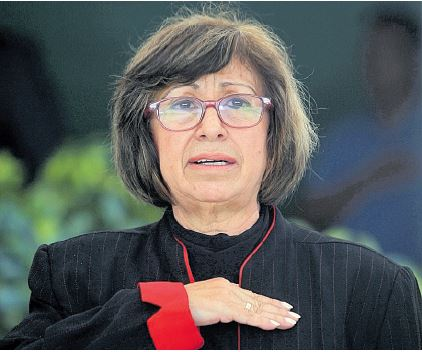 Rosa Elvira Pacheco Mangandi, ex viceministra del MAGA señaló que por no dejarse presionar por el Ministro de Agricultura fue destituida. (Foto Prensa Libre: Hemeroteca PL)