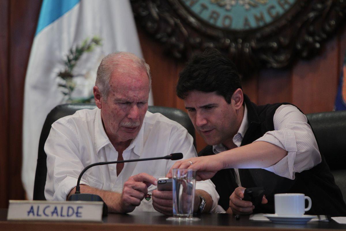 Ricardo Quiñónez Lemus sucederá a Álvaro Arzú en la Alcaldía