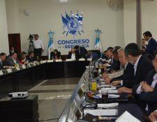 Los Jefes de Bloques acordaron realizar la elección de la Junta Directiva para el martes de esta semana. (Foto Prensa Libre: José Castro)