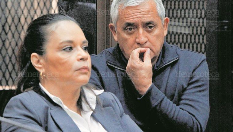 Exbinomio presidencial señalado de corrupción enfrenta varios procesos penales en los tribunales. (Foto Prensa Libre: Hemeroteca PL)