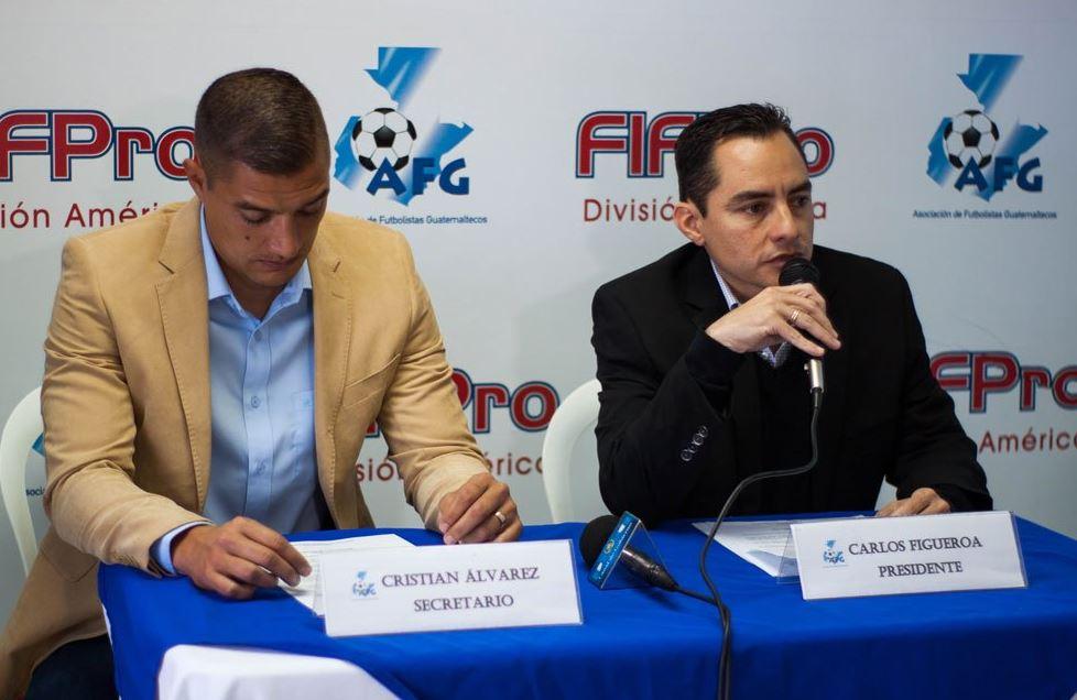 Carlos Figueroa, presidente de la AFG, se pronunció sobre el caso de dopaje en el futbol de Guatemala. (Foto Prensa Libre: Twitter)