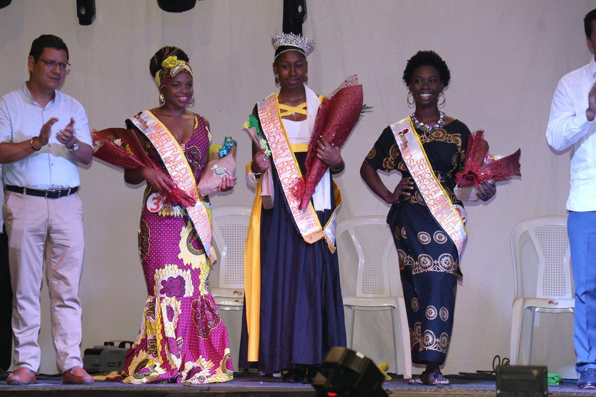 Nueva York domina certamen Reina Garífuna Afrodescendiente del Caribe en Izabal