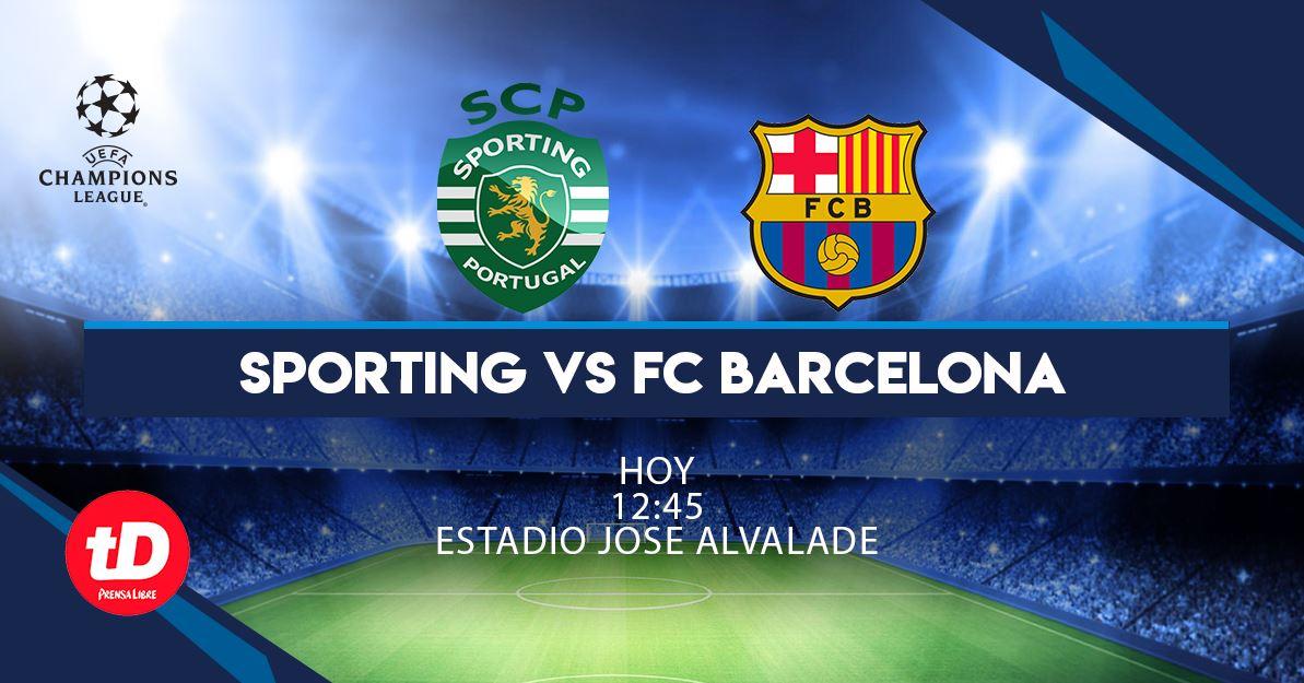 EN VIVO   Sporting vs. FC Barcelona