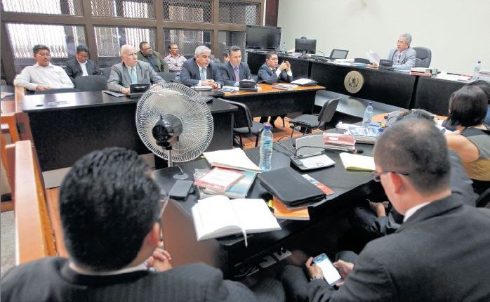 El pasado 14 de junio se tenía programada la audiencia donde se decidiría si los implicados deben enfrentar juicio; sin embargo, fue suspendida. (Foto Prensa Libre: Hemeroteca PL)