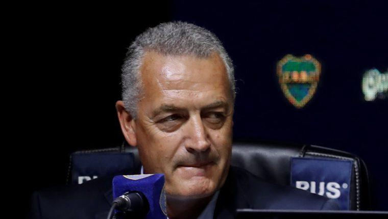 Gustavo Alfaro es el nuevo entrenador de Boca Juniors. (Foto Prensa Libre: EFE)