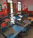 Miles de estudiantes, particularmente en la provincia, no recibieron los 180 días de clases debido a que maestros participaron en actividades sindicales. (Foto Prensa Libre: Estuardo Paredes)