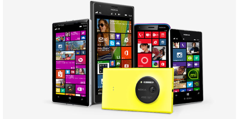 La línea de teléfonos de su Microsoft llegó a su fin (Foto Prensa Libre: Microsoft).