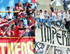 La rivalidad de las porras de los escarlatas y Comunicaciones llevaron a la prohibición del ingreso de afición visitante desde el 2014. (Hemeroteca PL)