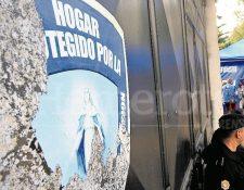 Debido a la tragedia donde murieron 41 menores, el Hogar Seguro Virgen de la Asunción, fue cerrado por las autoridades. (Foto Prensa Libre: Hemeroteca PL)