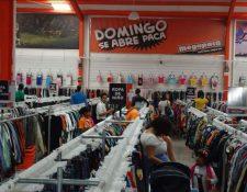 Por quinto año consecutivo la cadena de tiendas Megapaca celebra el día el Buen Chapín y donará el 50% de sus ventas a varias fundaciones. (Foto Prensa Libre: Hemeroteca)