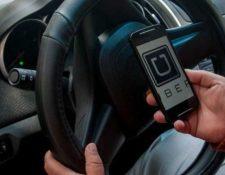 El paro de socios conductores de Uber en Guatemala está programado para el 27 de septiembre. (Foto Prensa Libre: Uber)