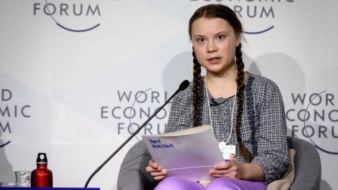 Greta Thunberg habló esta semana ante los principales líderes a nivel mundial. GETTY IMAGES
