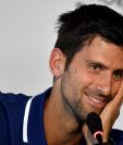 El tenista serbio Novak Djokovic no ha logrado recuperarse de la lesión en el codo. (Foto Prensa Libre: AFP)
