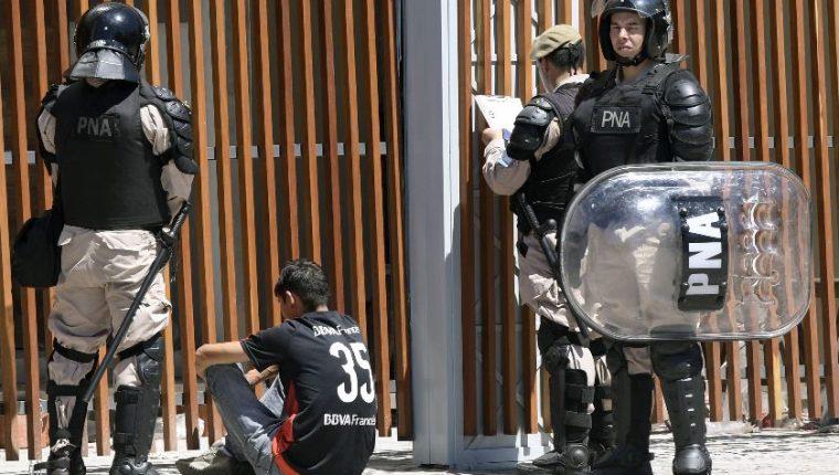 Madrid desplegará a más de 4 mil agentes para garantizar la seguridad del partido. (Foto Prensa Libre: AFP).