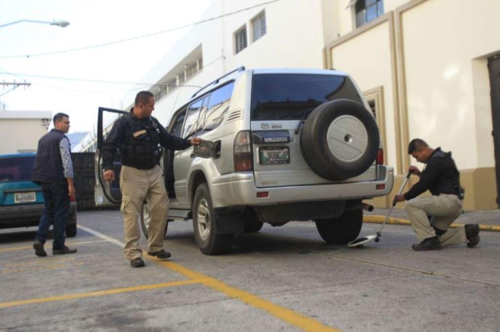 La SAAS es la encargada de proteger al presidente, vicepresidente, y sus familias. (Foto Prensa Libre: Hemeroteca PL)
