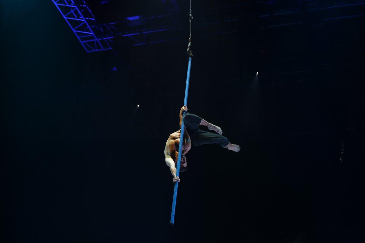 Así se vivió el ensayo del Cirque Du Soleil