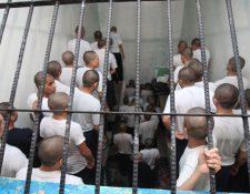 Recluidos en la correccional Gaviotas en cumplimiento de una sanción. (Foto Prensa Libre: Hemeroteca PL)
