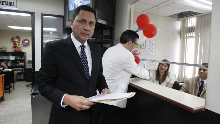 Raúl Falla, abogado de la Fundación contra el Terrorismo. (Foto Prensa Libre: Hemeroteca PL)
