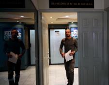Fredy Thompson espera que no lo suspendan seis meses. Este jueves conocerá su sanción. (Foto Prensa Libre: Edwin Fajardo)