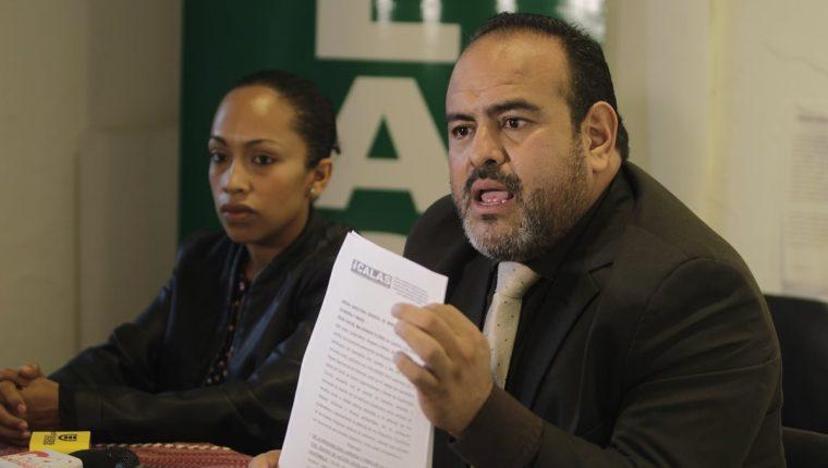 Rafael Maldonado, asesor de Calas. (Foto Prensa Libre: Edwin Bercián)