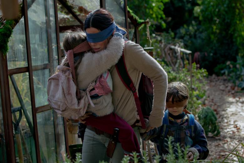 La película Bird Box, protagonizada por Sandra Bullock, se ha convertido en una sensación en las redes sociales y ha sido un éxito para Netflix. (Foto: Hemeroteca PL).