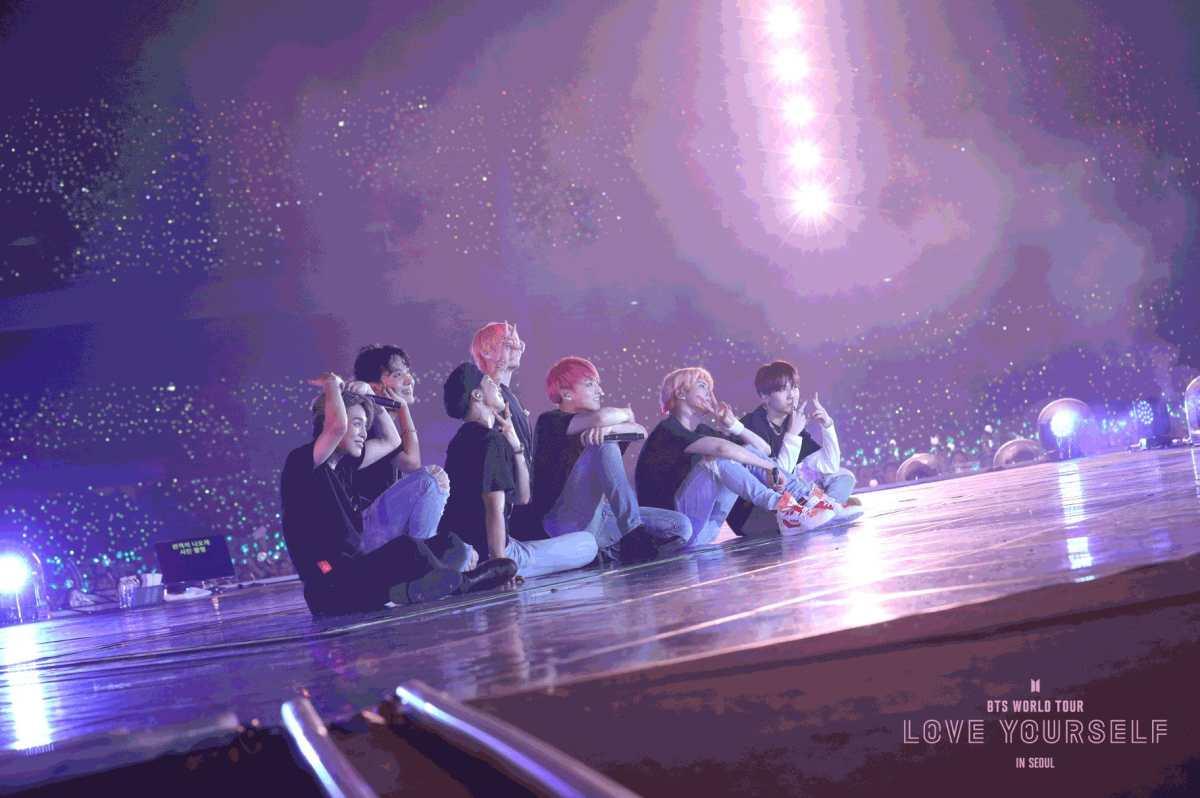 Así se vivió el #LoveYourselfinSeoulFilm de BTS